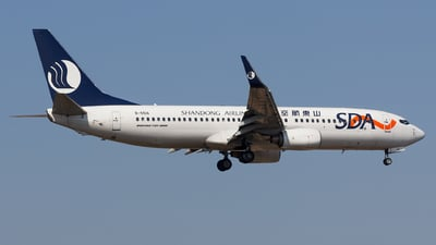 A picture of B5516 - Boeing 73786N - Shandong Airlines - © Aaron_ZSAM