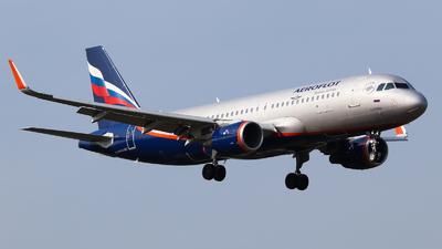 VP-BFG - Airbus A320-214 - Aeroflot