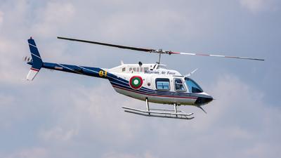 01 - Bell 206B JetRanger III - Bulgaria - Air Force