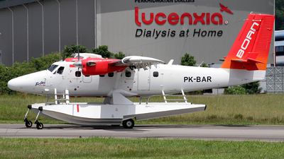 PK-BAR - De Havilland Canada DHC-6-400 Twin Otter - Air Born