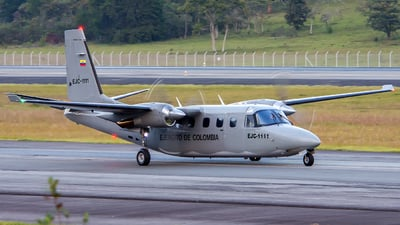 EJC1111 - Rockwell 690 Turbo Commander - Colombia - Army
