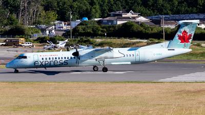 A picture of CGGNZ - De Havilland Canada Dash 8400 - Air Canada - © Grant Gladych