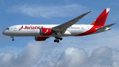 N795AV - Boeing 787-8 Dreamliner - Avianca