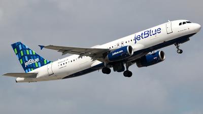 A picture of N580JB - Airbus A320232 - JetBlue Airways - © Robert Maverick Rivera