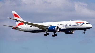 A picture of GZBJG - Boeing 7878 Dreamliner - British Airways - © Markus Schwab