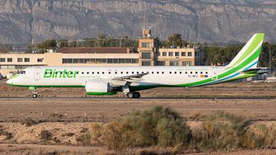 A picture of ECNPU - Embraer E195E2 - Binter Canarias - © Rodrigo Train