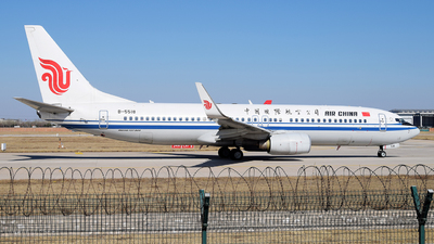 B-5518 - Boeing 737-89L - Air China
