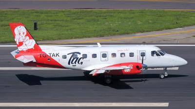 TG-TAK - Embraer EMB-110P1 Bandeirante - TAC Airlines -Transportes Aéreos Costarricense-