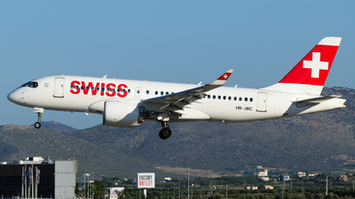 A picture of HBJBC - Airbus A220100 - Swiss - © George Chaidaris
