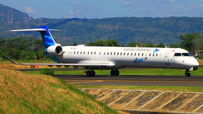 PK-GRF - Bombardier CRJ-1000ER - Garuda Indonesia Explore Jet