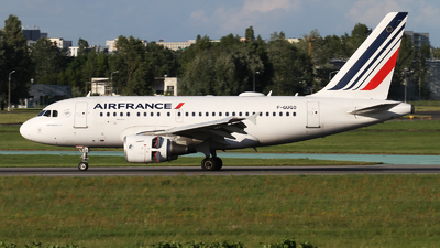 A picture of FGUGO - Airbus A318111 - Air France - © Rafal Pruszkowski