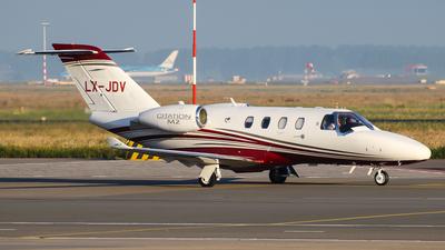 LX-JDV - Cessna 525 CitationJet M2 - Flying Group