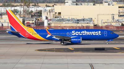 N8744B - Boeing 737-8 MAX - Southwest Airlines