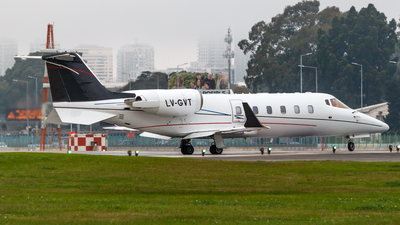 LV-GVT - Bombardier Learjet 60 - Private