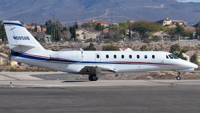 N595AB - Cessna 680 Citation Sovereign - Private