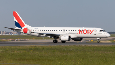 F-HBLA - Embraer 190-100LR - HOP! for Air France