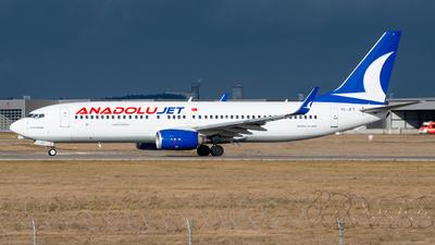 TC-JFT - Boeing 737-8F2 - AnadoluJet