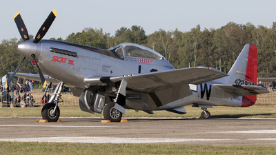 OO-RYL - North American P-51D Mustang - Private