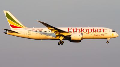 A picture of ETAOV - Boeing 7878 Dreamliner - Ethiopian Airlines - © Lukas Henrique - LK Spotter
