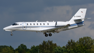 D-CAWX - Cessna 680 Citation Sovereign Plus - Aerowest Flugcharter
