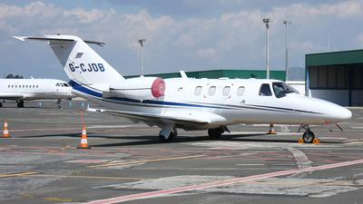 A picture of GCJDB - Cessna 525 CitationJet CJ1+ - [5250648] - © Fernandez Manuel