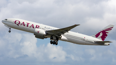 A7-BBH - Boeing 777-2DZLR - Qatar Airways