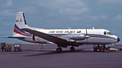 CR-CAW - Hawker Siddeley HS-748 Series 2A - TACV Cabo Verde Airlines