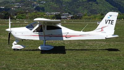 ZK-VTE - Tecnam P92 Echo Classic - Private