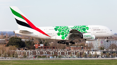 A picture of A6EOK - Airbus A380861 - Emirates - © Airlinergeek