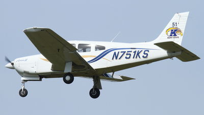 N751KS - Piper PA-28R-201 Arrow III - Kent State University