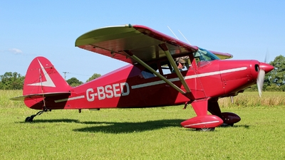 G-BSED - Piper PA-22-160 Tri-Pacer - Private