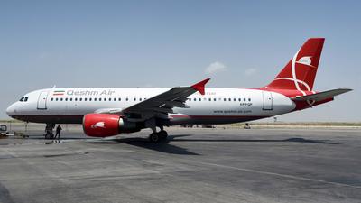 EP-FQP - Airbus A320-214 - Qeshm Air