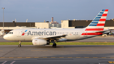 N831AW - Airbus A319-132 - American Airlines