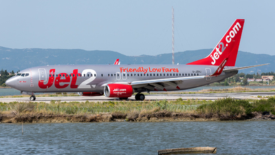 A picture of GJZHJ - Boeing 7378MG - Jet2 - © Michael Baumert