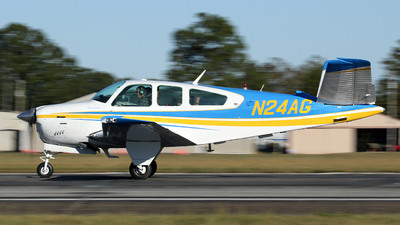 A picture of N24AG - Beech V35B Bonanza - [D10293] - © Kevin Porter