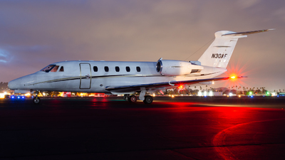 N30AF - Cessna 650 Citation III - Private