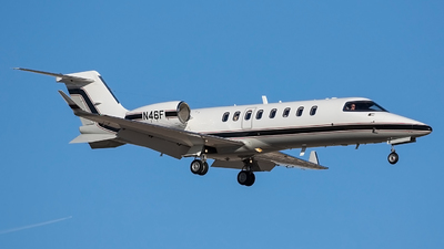 N46F - Bombardier Learjet 45 - Private