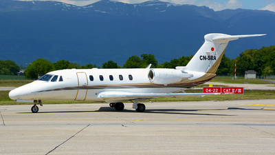 CN-SRA - Cessna 650 Citation VII - Private