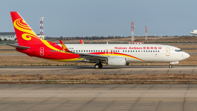 A picture of B7378 - Boeing 73786N - Hainan Airlines - © Smiling SHA