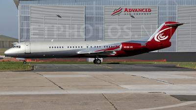 OE-IIC - Fokker 100 - JetAlliance