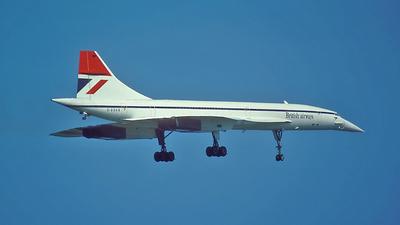 G-BOAB - Aérospatiale/British Aircraft Corporation Concorde - British Airways