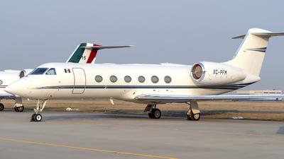 A picture of XCPFM - Gulfstream G350 - [4016] - © Hooks - AirTeamPhotos
