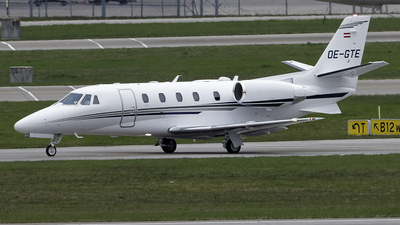 OE-GTE - Cessna 560XL Citation XLS Plus - Porsche Air Service