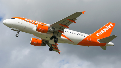 G-EZFR - Airbus A319-111 - easyJet