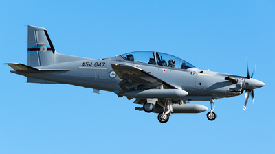 A54-047 - Pilatus PC-21 - Australia - Royal Australian Air Force (RAAF)