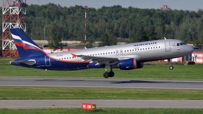 VQ-BIV - Airbus A320-214 - Aeroflot