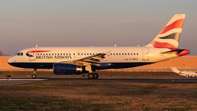 A picture of GDBCC - Airbus A319131 - British Airways - © Francesco Boracchi