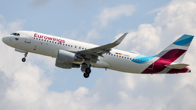 A picture of DAEWI - Airbus A320214 - Eurowings - © OSL Planespotting