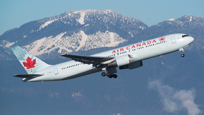 C-GBZR - Boeing 767-38E(ER) - Air Canada