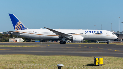 N24973 - Boeing 787-9 Dreamliner - United Airlines